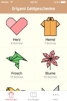 Pin Geld Geschenk Falten Anleitung 5 Euro Geldschein Origami Picture ...