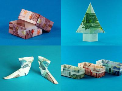 Weihnachts-Update für die App Origami Geldgeschenke