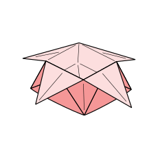 Sternschachtel Faltanleitungen Origami Kunst
