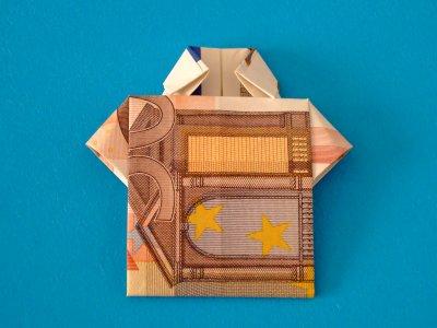 hemd geldscheine und geldgeschenke origami kunst. Black Bedroom Furniture Sets. Home Design Ideas