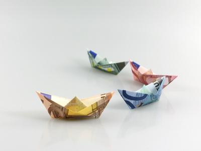 Papierschiff   Geldscheine und Geldgeschenke   Origami-Kunst