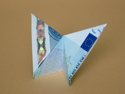 geld origami schmetterling my blog. Black Bedroom Furniture Sets. Home Design Ideas