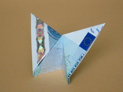 Geldschein Schmetterlinge falten . Geldschein Schmetterling falten ...