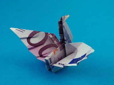 schwan geldscheine und geldgeschenke origami kunst. Black Bedroom Furniture Sets. Home Design Ideas