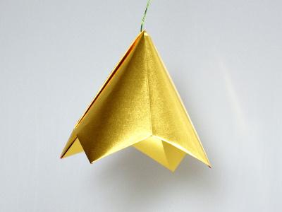 Origami Glocke