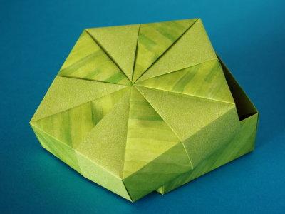 Fünfeckschachtel | Schachteln und Verpackung | Origami-Kunst