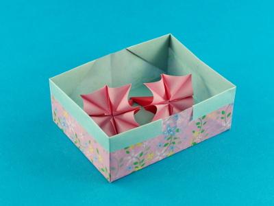 origami schachtel rechteckig my blog. Black Bedroom Furniture Sets. Home Design Ideas
