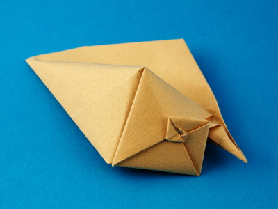 Origami Muschel