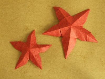 Seesterne | Seeleben | Origami-Kunst
