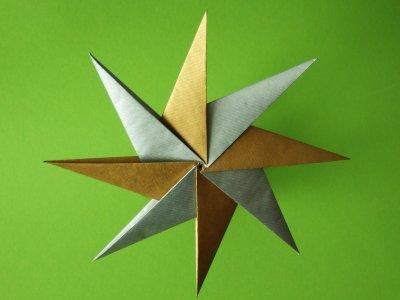 origami falten blume sterne und tiere als deko im kinderzimmer, Schlafzimmer