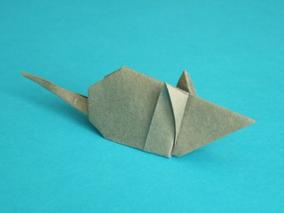 Maus | Tiere | Origami-Kunst